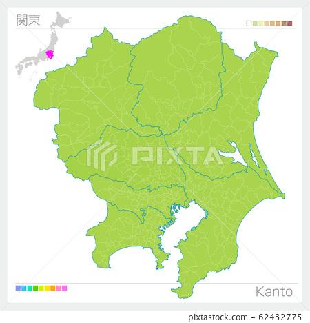 관동의지도 · Kanto (그린) 62432775