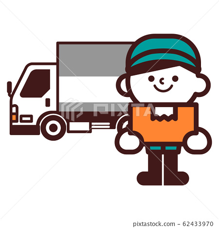 車卡車人運輸送貨車大型車 62433970