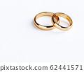 Golden rings on paper 62441571