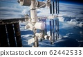 International Space Station in outer space over 62442533