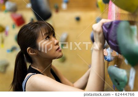 抱石(年轻女子,健身,培训 62444766