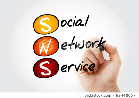SNS - Social Network Service acronym 62448057