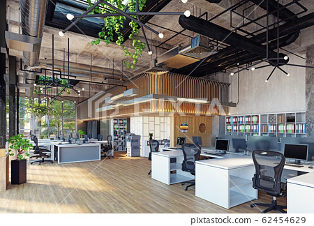 modern office interior, 62454629