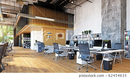 modern office interior, 62454635