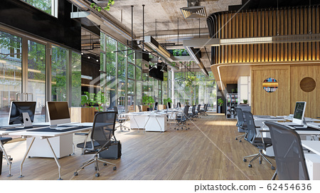 modern office interior, 62454636