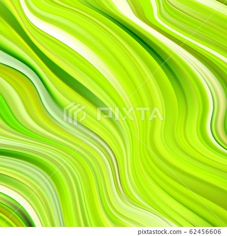 Modern green flow poster. Wave Liquid shape color background. Art design for your design project. 62456606