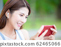 young asian girl use phone 62465066