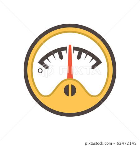 gauge meter icon 62472145