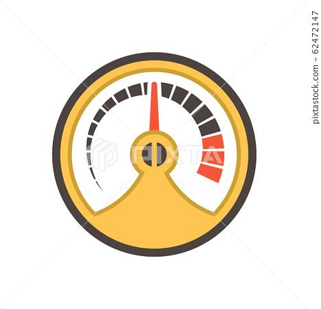 gauge meter icon 62472147