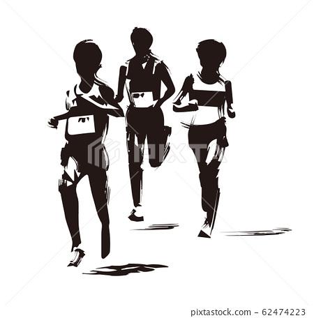 馬拉松運動員 62474223