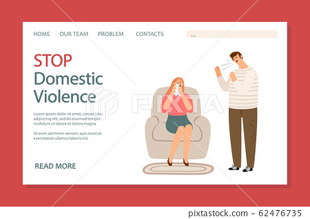 Stop domestic violence landing page 62476735