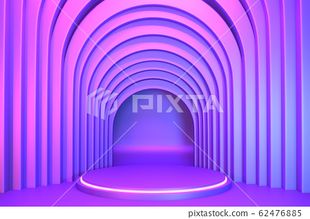 gradients purple and blue abstract podium 62476885