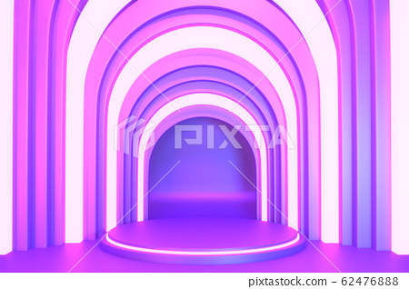 gradients purple and blue abstract podium 62476888
