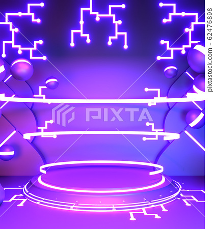 Game concept gradients purple and blue abstract 62476898