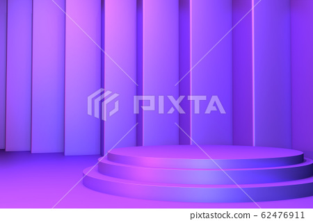 gradients purple and blue abstract podium 62476911