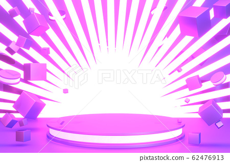 gradients purple and blue abstract podium 62476913