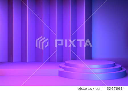 gradients purple and blue abstract podium 62476914
