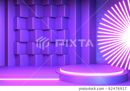gradients purple and blue abstract podium 62476917