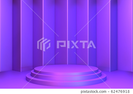gradients purple and blue abstract podium 62476918
