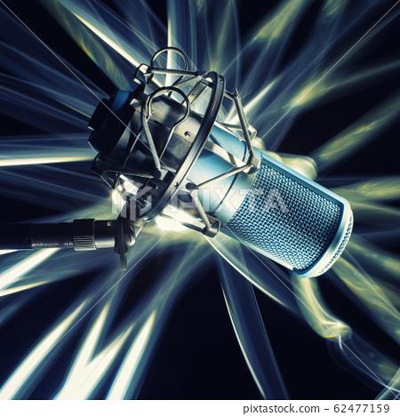 Professional studio microphone. 62477159