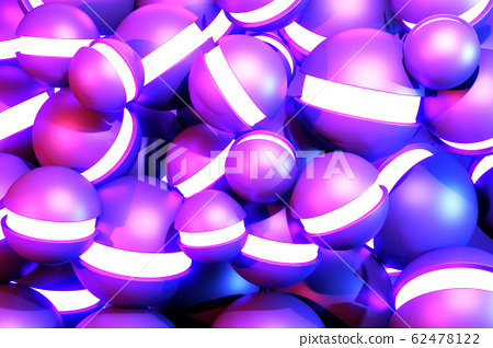 Light boll gradients purple and blue abstract 62478122