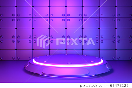 Game concept gradients purple and blue abstract 62478125