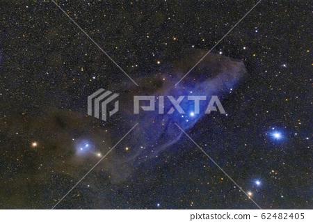 푸른 말머리 성운 IC4592 62482405