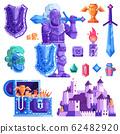 RPG Knight Hero Equipment for Mobile Game 62482920