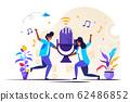 vector illustration, news, interviews 62486852