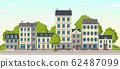 Cartoon Cityscape Panorama 62487099
