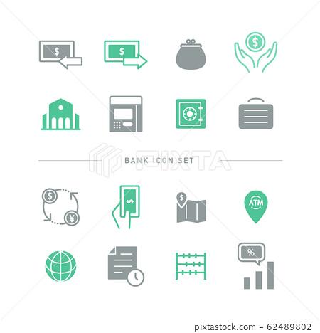 銀行 金融 圖標 62489802