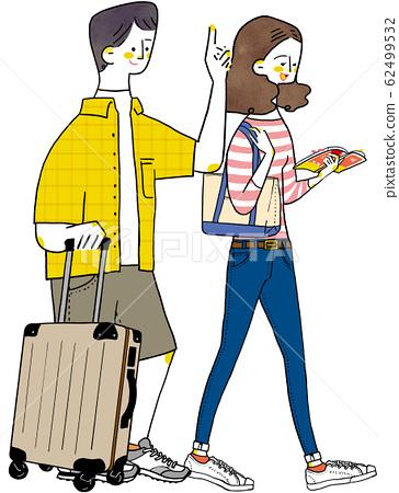 旅行情侶情侶度蜜月 62499532