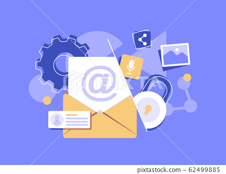 Email and messaging,Email marketing campaign 62499885