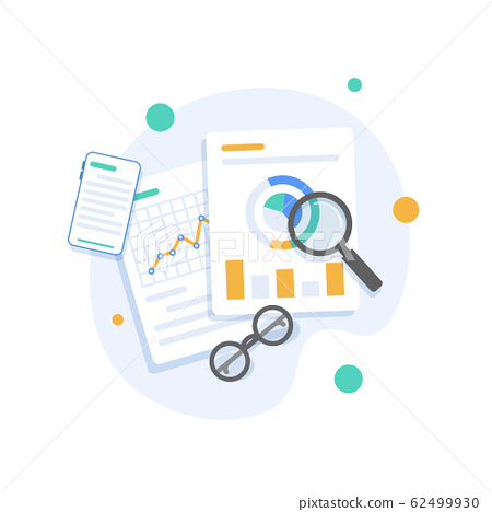 Digital analytics, Big data analysis, data science, market research 62499930