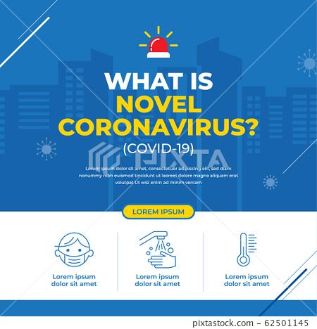 Coronavirus(COVID-19) Campaign banner design 62501145