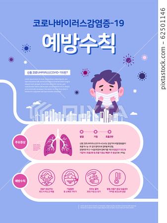 Coronavirus(COVID-19) Campaign banner design 62501146