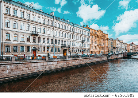 Canal Gribobedov. Urban View of Saint Petersburg. 62501985