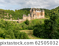 Eltz Castle, a medieval castle located on a hill 62505032