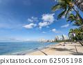 หาดไวกิกิหาดทรายและทะเลสีฟ้าที่สวยงาม 62505198