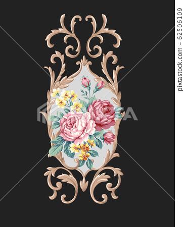 盛開的牡丹大花素材,顏色豐富的花卉 62506109