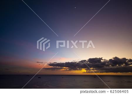 석양 노을 와이키키 하와이 perming 사진 소재 62506405