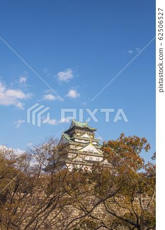 大阪城春季大阪城的大阪城公園 62506527