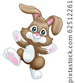Easter Bunny Rabbit Cartoon 62512261