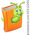 Book Bookworm Caterpillar Worm 62512265