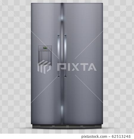 Modern Smart Fridge Freezer refrigerator. 62513248