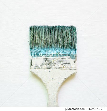 Paint brush on white background 62514679