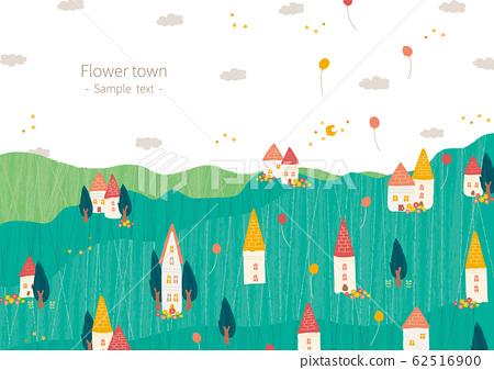 꽃과 초록의 마을 62516900