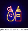 Mustard Ketchup Neon Sign 62518080