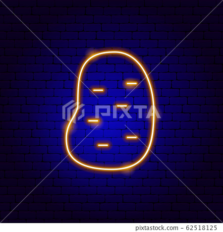 Potato Neon Sign 62518125