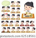 school girl Sailor suit summer_Meal 62518561